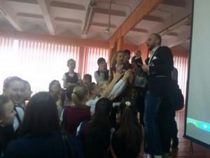 Общее дело в школе №35 им. В.П. Дубины города Волжский Волгоградской области