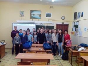 Общее дело в школе №1 города Волжский Волгоградской области