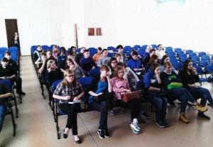 Общее дело в колледже экономики, педагогики и права г. Омутнинска Кировской области