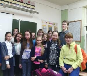 Общее дело в школе №1 г. Омутнинска Кировской области