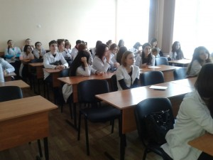 Общее дело в Воронежском базовом медицинском колледже