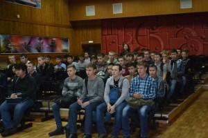 Общее дело в Кызылском автомобильно-дорожном техникуме города Кызыла республики Тыва