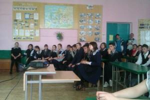 Общее дело в Малобащелакской школе села Малый Бащелак, Чарышского района, Алтайского края
