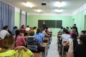 Общее дело в республиканском медицинском колледже республики Тыва
