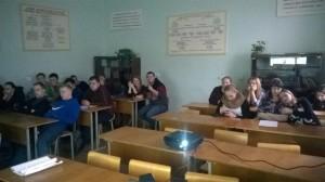 Общее дело в кооперативном техникуме города Пскова