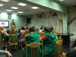 Общее дело в детского-юношеской спортивной школе олимпийского резерва №49 города Москвы