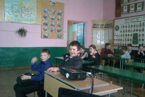 Общее дело в «Малобащелакской школе» села Малый Бащелак Чарышского района Алтайского края