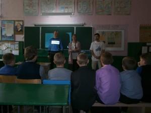 Общее дело в «Малобащелакской школе» села Малый Бащелак, Чарышского района, Алтайского края