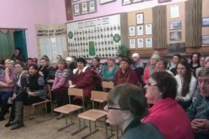 Общее дело на родительском собрании в «Малобащелакской школе» села Малый Бащелак Чарышского района Алтайского края