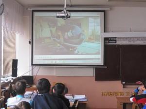 Общее дело в школе №1 города Агидель республики Башкортостан
