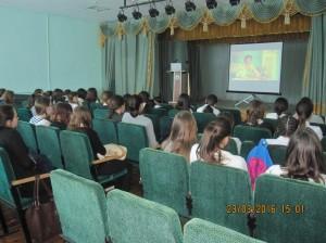 Общее дело в Башкирской гимназии города Агидель республики Башкортостан
