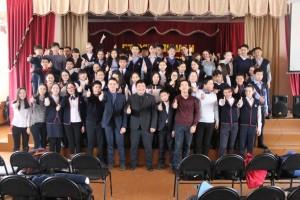 Общее дело в гимназии №5 города Кызыл республики Тыва