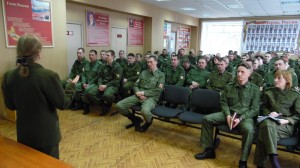 Общее дело в войсковой части №3734 города Воронежа