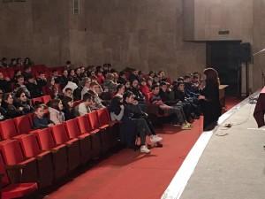 Общее дело на встрече с учащимися Левобережного района города Москвы