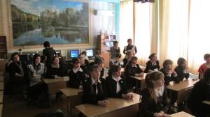 Общее дело в Малобащелакской школе села Малый Бащелак Чарышского района Алтайского края