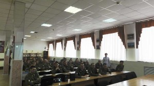 Общее дело в Новосибирском Военном институте внутренних войск
