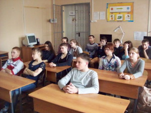 Общее дело в школе №9 города Кинешмы Ивановской области