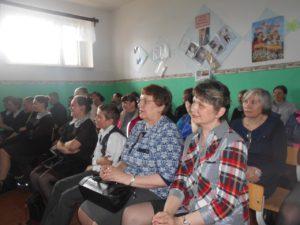 Общее дело в Зубковской средней школе поселка Тугулым Свердловской области