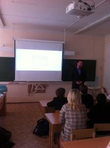 Общее дело в гимназии №3 города Архангельска