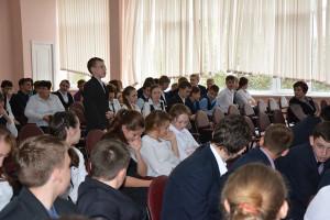 Общее дело в Майской гимназии Белгородского района Белгородской области