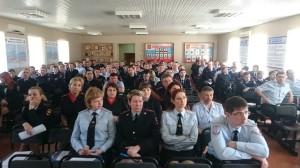 Общее дело в гостях у сотрудников полиции города Армавира Краснодарского края