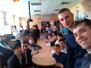 Общее дело в гостях у учащихся школ №2 и №3 города Радужный ХМАО