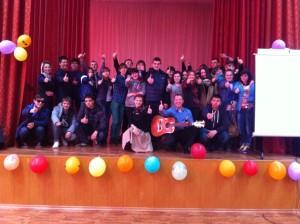 Общее дело в многопрофильном технологическом колледже города Рязани
