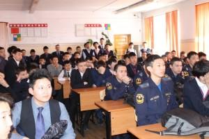 Общее дело в гимназии №5 города Кызыла республики Тыва