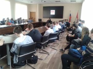 Общее дело в Колледжа связи №54 города Москвы