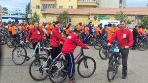Общее дело на велопробеге в городе Нягань