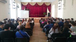 Общее дело в Армавирском механико-технологическом техникуме Краснодарского края