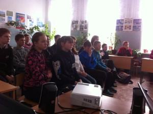 Общее дело в гостях у учащихся села Панино Спасского района Рязанской области