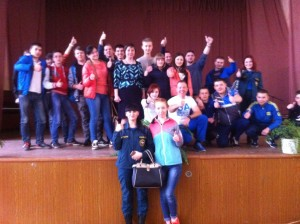 Общее дело в колледже им. Н. Н. Комарова п. Варские  Рязанской области