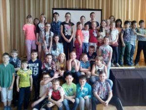 Общее дело в детском лагере на базе школы №12 города Сургут