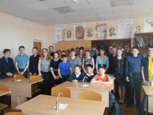 Общее дело в Трошковской школе Тугулымского района Свердловской области