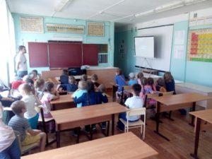 Общее дело в Сидоровской средней школе Красносельского района Костромской области