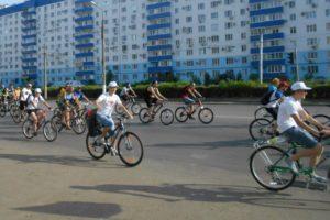 Волонтеры Общего дела приняли участие в велопробеге, посвященном Всероссийскому олимпийскому дню, в городе Волжский Волгоградской области