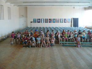 Общее дело в детском лагере школы №32 города Волжский Волгоградской области