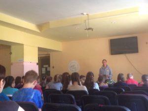 Общее дело в детском лагере «Тонус» Собинского района Владимирской области