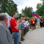 Общее дело на школе-слете Трезвых сил на озере Тургояк Челябинской области