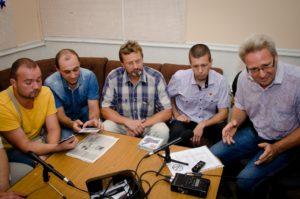 Общее дело на радио передаче города Шуи Ивановской области