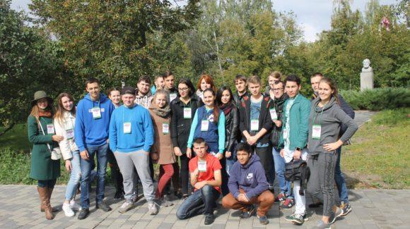 «Веревочный курс» для студентов — первокурсников ОГУЭТ города Орла