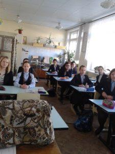 Общее дело в школе № 73 города Воронежа
