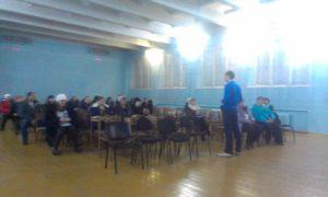 Общее дело на родительских собраниях в школе №102 города Новокузнецк Кемеровской области