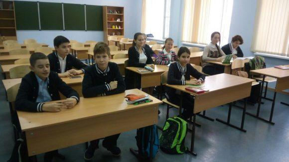 Общее дело в гимназии №9 города Сочи Краснодарского края