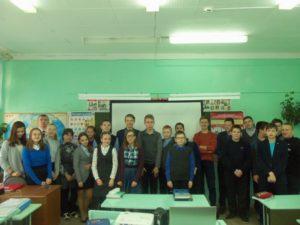 Общее дело в школе №1 города Великий Устюг Вологодской области