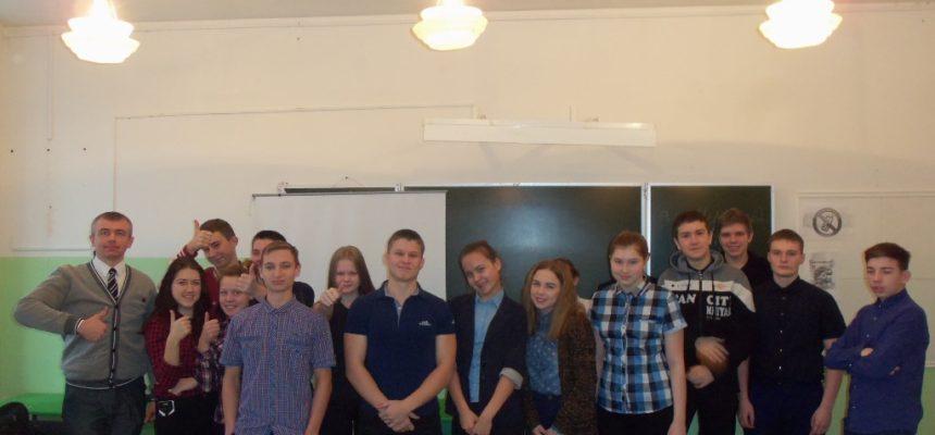 Общее дело в школе №4 города Великий Устюг Вологодской области