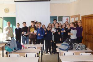Встреча с учащимися школы №92 города Ростова-на-Дону
