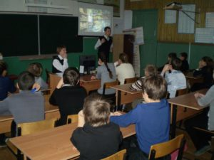 Общее дело в школе села Вознесенье Савинского района Ивановской области