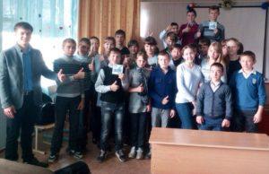 Общее дело в Петровской школе Милютинского района Ростовской области